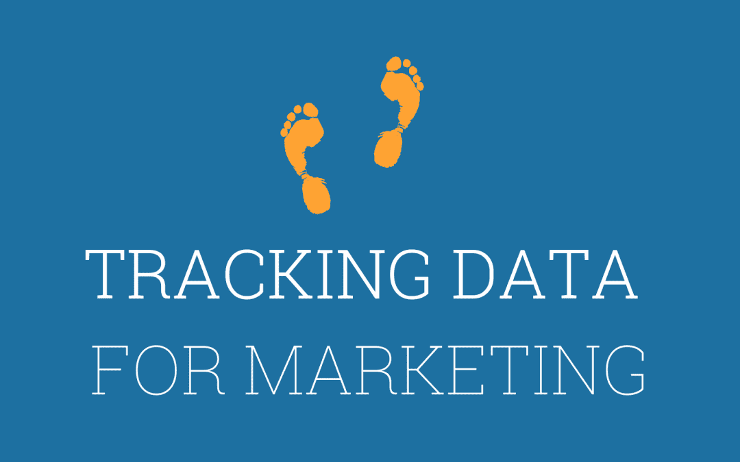 Tracking data for marketing purposes
