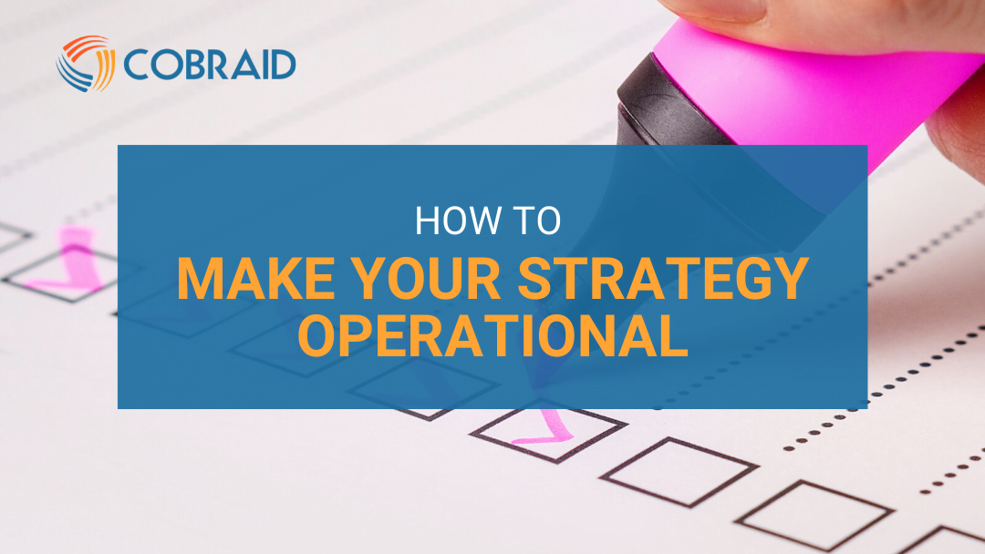 How to plan strategic objectives